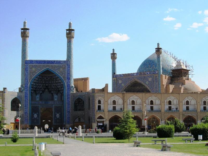 زاویه مسجد شاه اصفهان