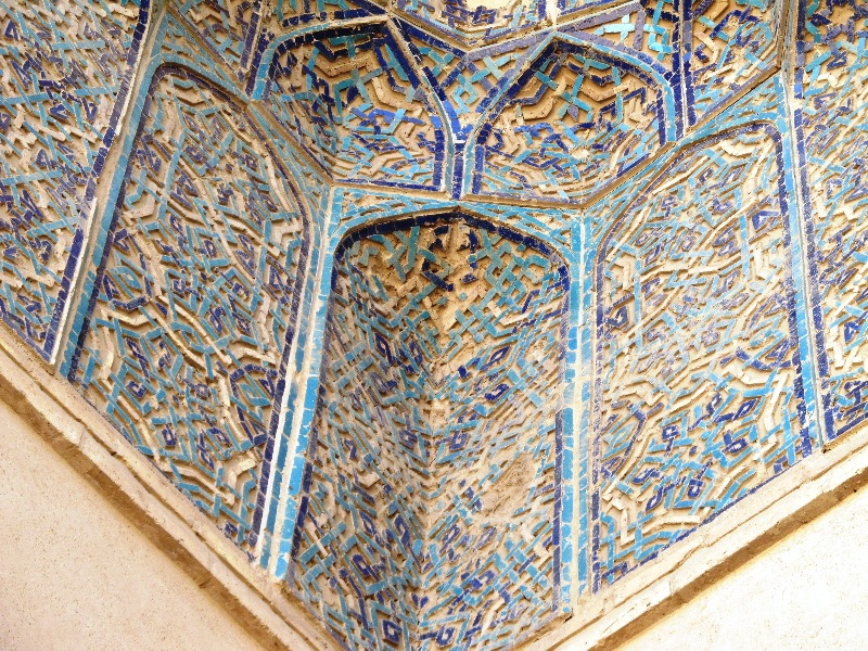 تزئینات مسجد جامع