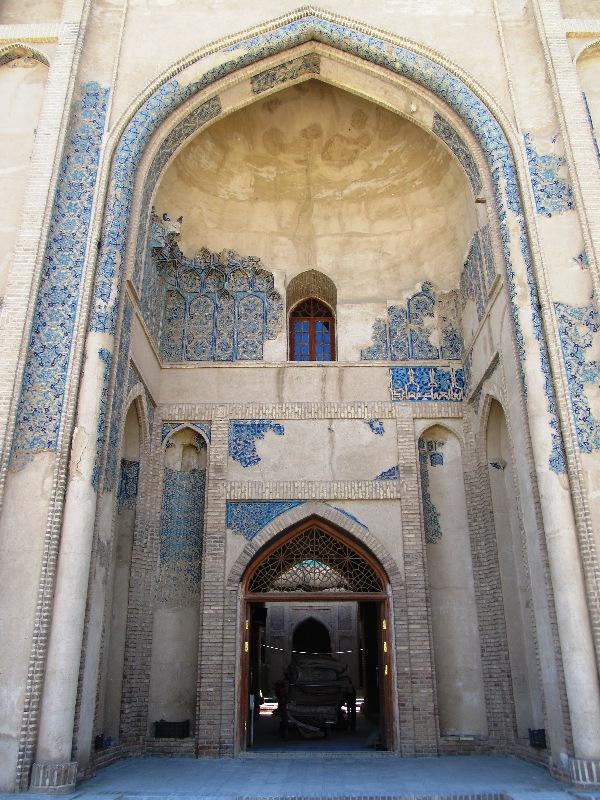 سر در مسجد جامع