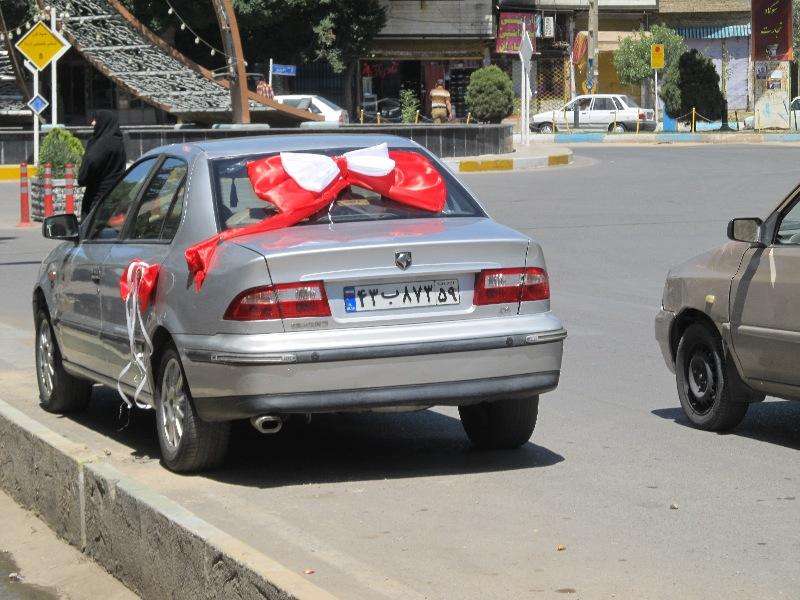 ماشین عروس ورامین