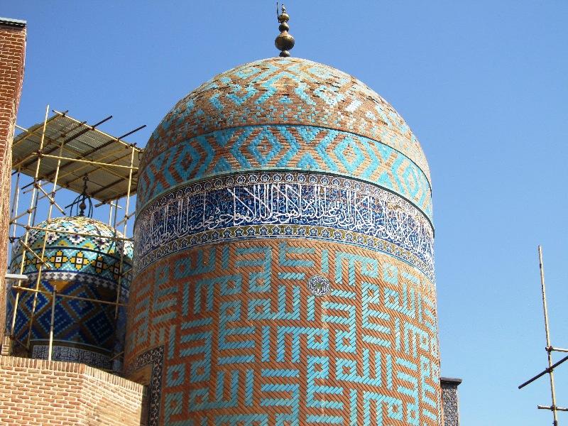 گنبد های شاه اسماعیل و شیخ صفی