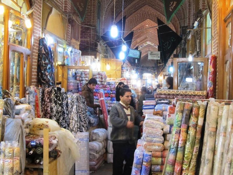 بازار پارچه تبریز
