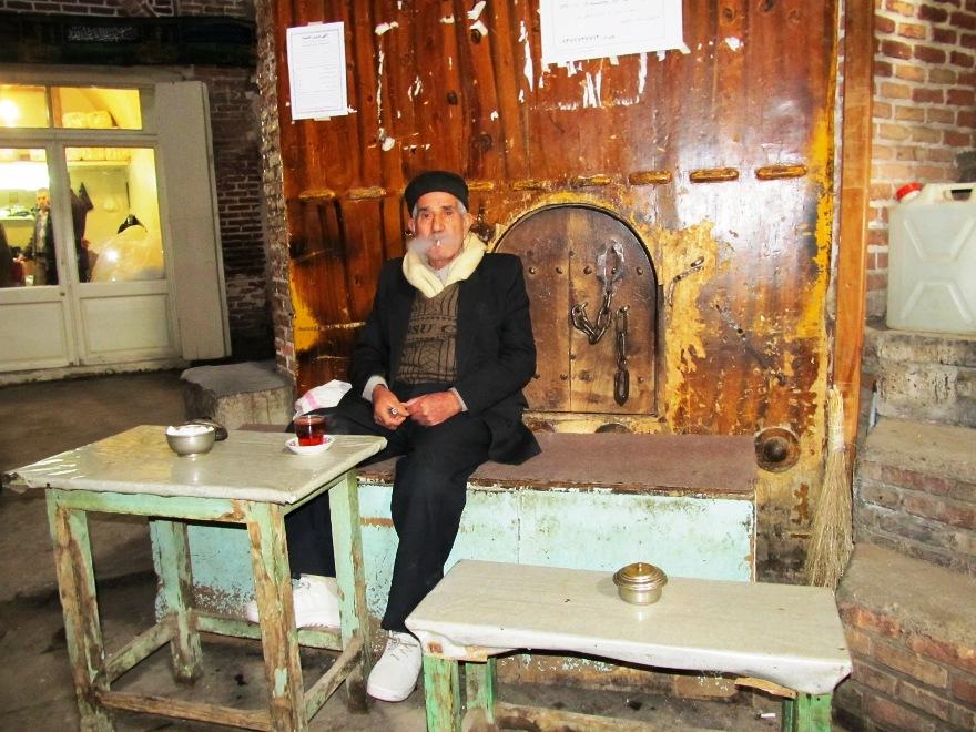 قهوه خانه بازار تبریز