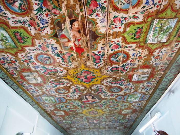 سقف تالار قوام