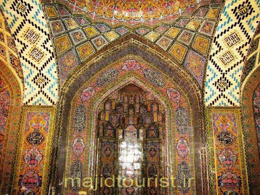 محراب مسجد نصیر الملک