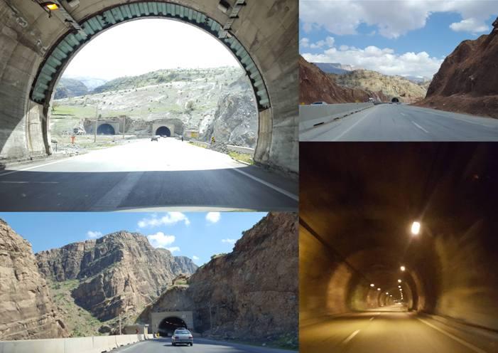 تونل های زال