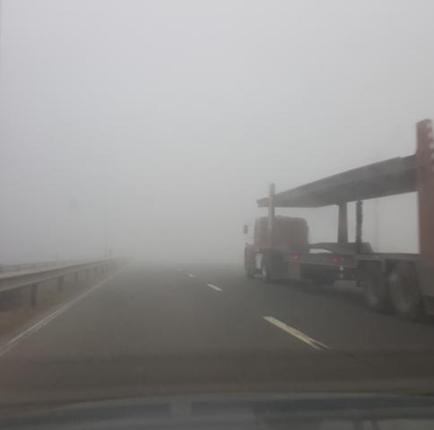 مه جاده حیران