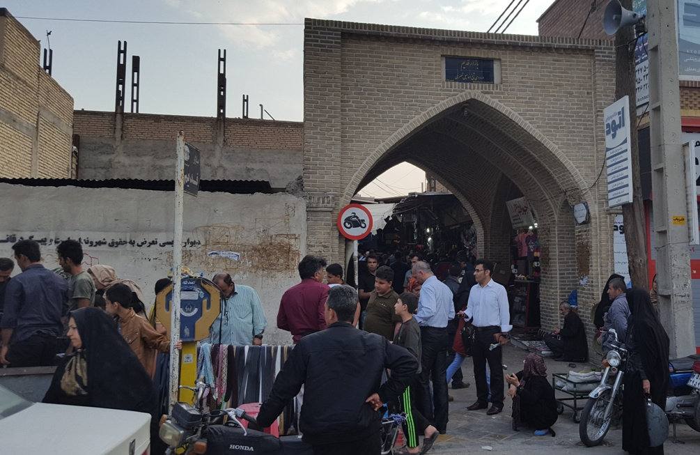 ورودی بازار دزفول
