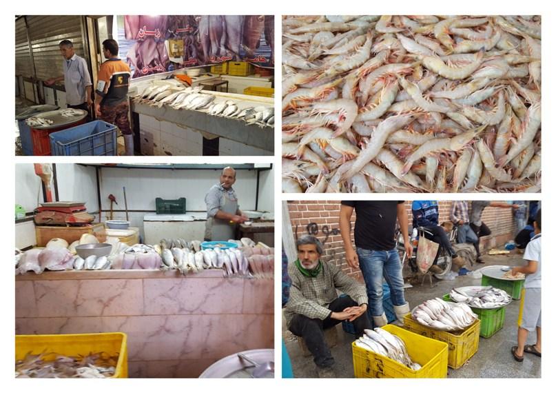 بازار ماهی آبادان