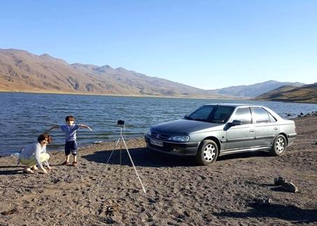 هلیا حاتمی دریاچه نئور