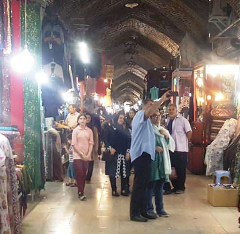 بازار خوی محسن حاتمی