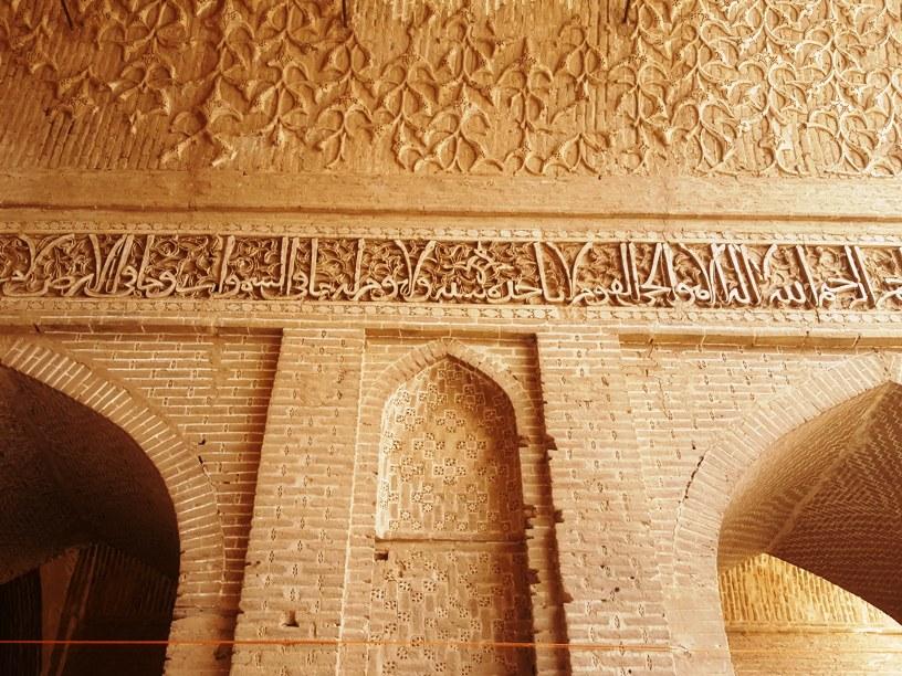 آجر کاری مسجد جامع