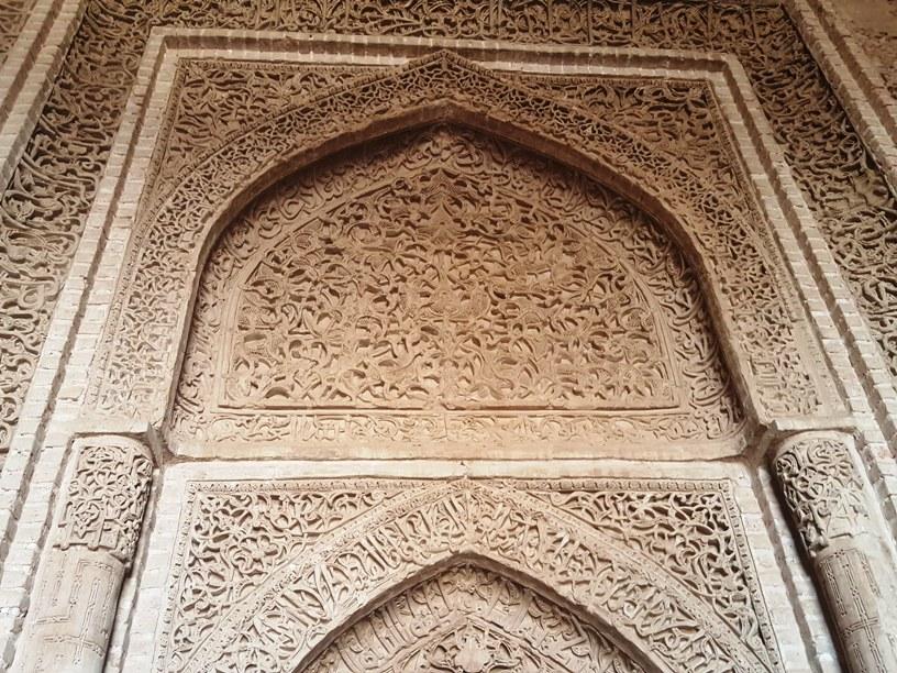 محراب مسجد جامع اردستان
