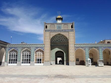 صحن مسجد مظفری