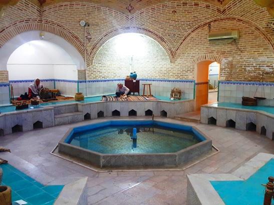 حمام رفسنجان سید مهدی