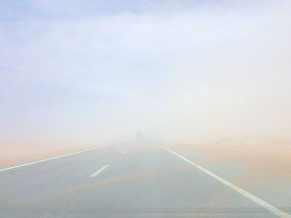 طوفان شن یزد