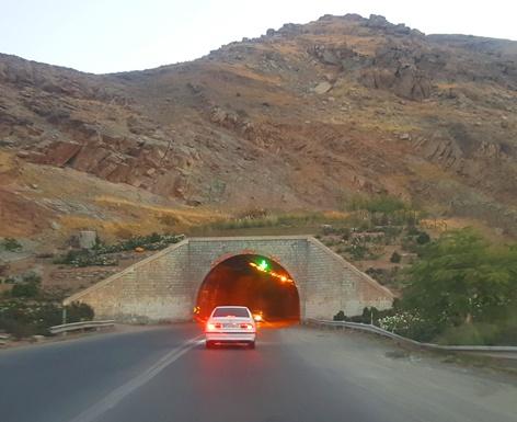 اولین تونل چالوس